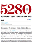 5280 Magazine - High Plains Bison, Jul 2011