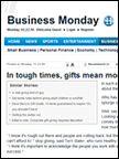 Business Monday - Slater PR