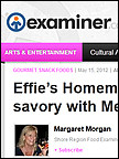 Effies - Examiner.com, May 2012