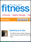 Fitness - Gourme Mist, Oct 2009