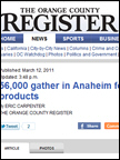 Orange County Register - Dr. Lucy's Cookies, Mar 2011