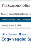 Sacramento Bee - Eat Well, Enjoy Life, Feb 2012