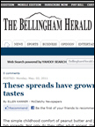 The Bellingham Herald - Rigoni di Asiago, May 2011