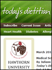 Todays Dietician - Lucy's cookies, Mar 2011