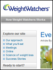 WeightWatchers - Rigoni di Asiago, Sep 2010